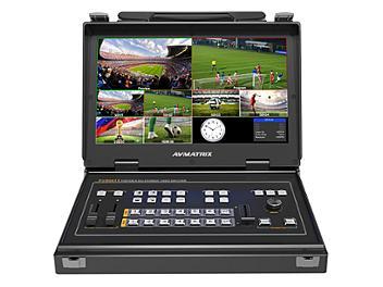 Avmatrix PVS0613 6-input 3G-SDI and HDMI Video Mixer with 13.3-inch Monitor