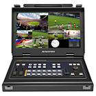Avmatrix PVS0613 6-input 3G-SDI and HDMI Video Mixer with 13.3-inch Monitor