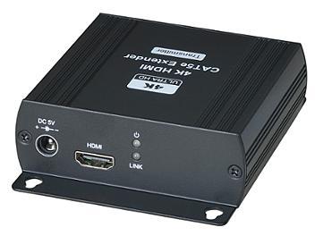 Globalmediapro SHE HE03-4K 4K HDMI CAT5e Extender (Transmitter and Receiver)