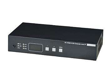 Globalmediapro SHE HKM02BPT-4K HDMI, Audio, CAT5e over IP Transmitter with IR, KVM, USB, RS232 with PoE