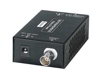 Globalmediapro SHE CA101HDP-DC40 HD-TVI / AHD / HD-CVI and Power over Coaxial Cable (Transmitter and Receiver)