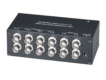 Globalmediapro SHE CD408HD 4x8 HD-TVI / AHD / HD-CVI / CVBS Video Distributor