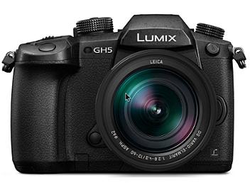 Panasonic Lumix DC-GH5 Mirrorless Camera Kit with 12-60mm Lens