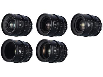 Nitecore SP 25mm, 35mm, 50mm, 75mm, 100mm Cinema Lenses